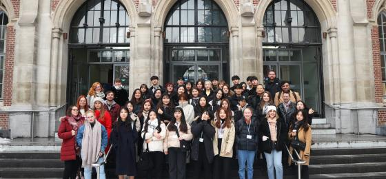 Lille Short Term program January 2019 Université Catholique de Lille